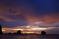 Crepuscular Rays Thailand